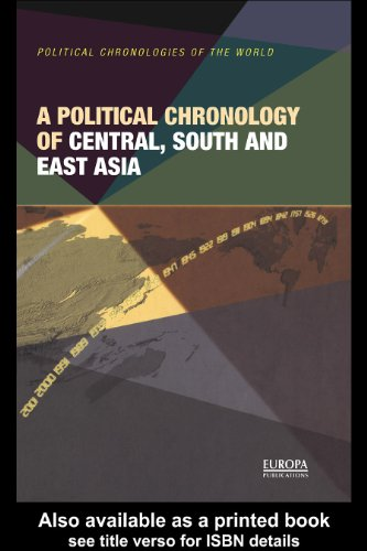 Download A Political Chronology of Central, South and East Asia Pdf