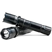 Bezesiz Outdoor & Travel Flashlight Portable Aluminum Electronic Torch Shockers Rechargable High Power Flashlight