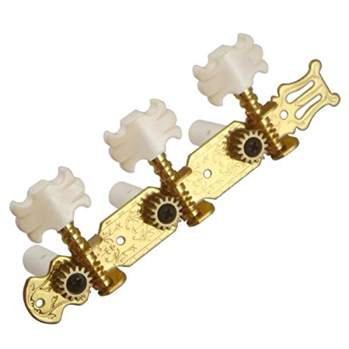 Online Tuner Guitar - Jili Online Tuning Pegs Tuners Keys String Machine Heads for Classic Guitars 3R3L Inline