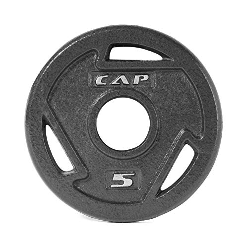 CAP Barbell 2-Inch Olympic Grip Plate, Various Sizes ()