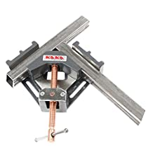 Kaka Industrial AC60 90 Degrees Angle Clamp, Heavy Duty Industrial Cast Iron Angle Clamp Vice