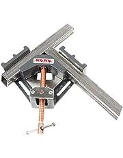 KAKA AC-60 90 Degrees Angle Clamp, Heavy Duty Industrial Cast Iron Angle Clamp Vice