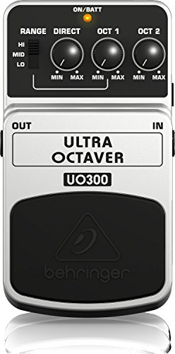 Behringer Ultra Octaver UO300 3-Mode Octave Instrument Effects Pedal