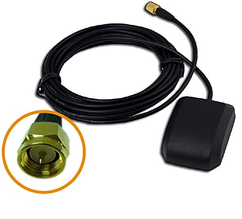 - Waterproof 30dbi Gain GPS Active Antenna with SMA male-plug 3meter 10feet connector adapter gps/sms/gprs tracket tk103b pyle plbt73g after market radio