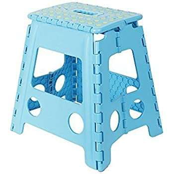 KARMAS PRODUCT Super Strong Folding Step Stool-15 In Portable Carrying Handle for Adults and  sc 1 st  Amazon.com & Amazon.com: KARMAS PRODUCTS Super Strong Folding Step Stool 15 ... islam-shia.org