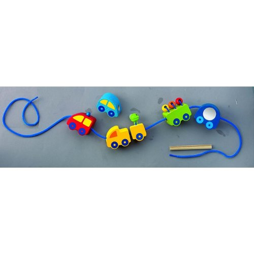 HABA Vehicles Beads ()