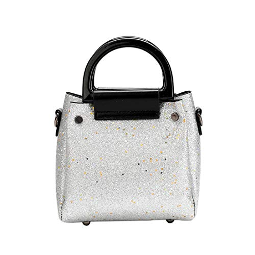 Case Shoulder Bag Phone Wallet Crossbody Shoulder Handbag Cell Sequins Gray Strap with Purse Bag qaISwx8P