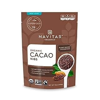 Navitas Organics Cacao Nibs, 16 oz. Bags (Pack of 2) - Organic, Non-GMO, Fair Trade, Gluten-Free (B001ELL9GI) | Amazon price tracker / tracking, Amazon price history charts, Amazon price watches, Amazon price drop alerts