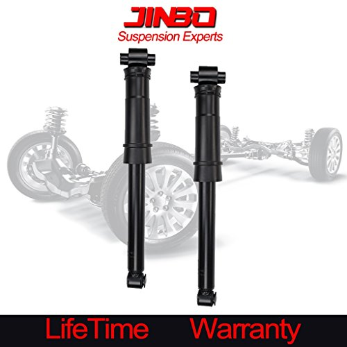 VioletLisa 2pcs Rear Right+Left Side Gas Strut Shock For 07-12 Nissan Sentra Excludes SE-R Spec V Truck Without Springs