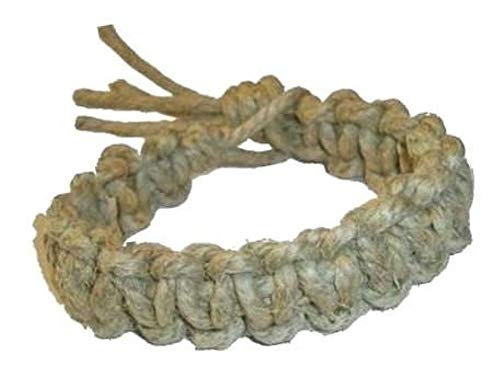 Hempnotic Jewelry Men's Thick All Natural Big Daddy Hemp Bracelet - Handmade
