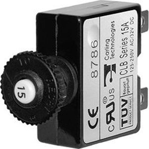 Push Button Reset-Only Circuit Breaker Amps: (Reset Only Circuit Breakers)