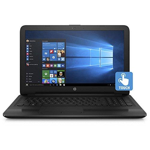 "HP Touchscreen Laptop (2017 Model), 15.6"" HD Display (1366X768), Intel Dual Core Newest i3 Processor, 8GB Memeory, 1000 GB HDD, DVD/RW, Wifi, Bluetooth, HDMI, Windows 10 Home, Black"