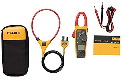 Fluke 376 True-RMS AC/DC Clamp Meter with 18