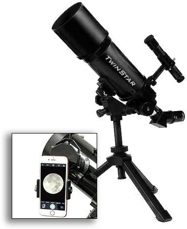 astroventure portátil 80 mm telescopio Refractor con cámara de ...