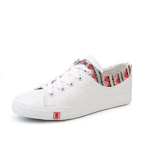 Zapatos de lona de verano/Zapatos casual fresco viento nacional vintage/Zapatos bajos del estudiante B
