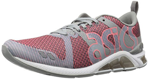 ASICS Men's Gel-Lyte One Eighty Fashion Sneaker, Medium Grey/Guava, 12 M US