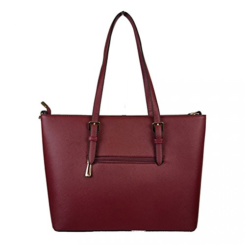 Co Tote Bordeaux Women's Red amp; Bag Flora q5wFSx6aT