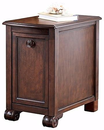Ashley Furniture Signature Design   Brookfield Chair Side End Table    Rectangular   Grand Elegance