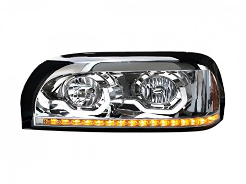 Chrome-Freightliner-Century-Projection-Headlight-Driver-Side