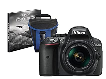 Nikon - Kit cámara réflex Digital d5300 con Objetivo AFP 18-55 mm ...