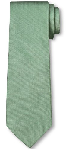 Tie Of Silk London City - City of London Men's Oxford Extra Long Tie (Extra Long, Green)