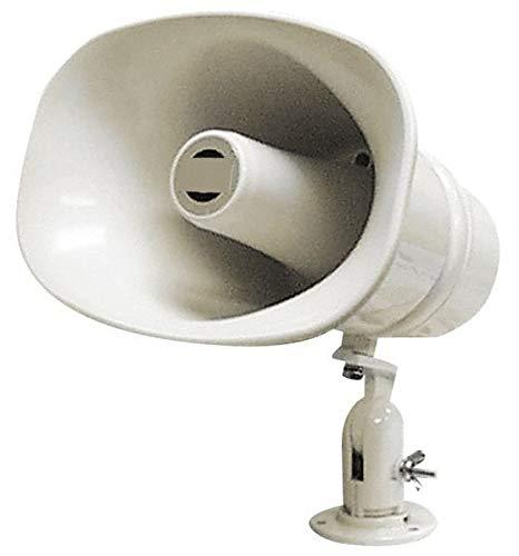 Speco - 30 Max Watt, 11 Inch Diameter, Oval Plastic Standard Horn and Speaker