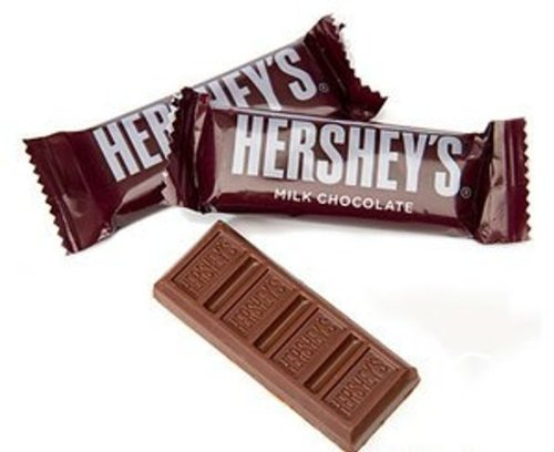 HERSHEY'S Chocolate Bar, Milk Chocolate Snack Size Candy Bar, 27 Pound Bulk Package by HERSHEY'S