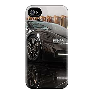 Hot Cool Concept Black First Grade Tpu Phone Case For Iphone 4/4s Case Cover