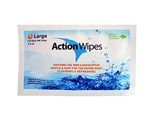 Action Wipes Individually Wrapped Body Wipes Bag by Action Wipes (Image #1)