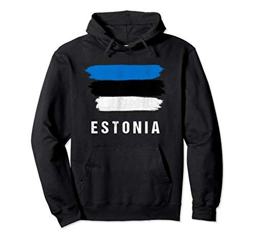 Pullover Hoodie | Estonian Flag Hood ()