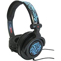 Maxell Amplified Heavy Bass Headphones - Blue Tribal