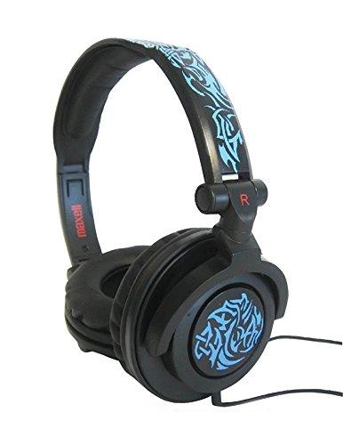 Maxell Amplified Heavy Bass Headphones - Blue Trib...