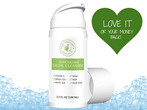 Natural & Organic Face Wash with Vitamin C - Anti Aging, Bre