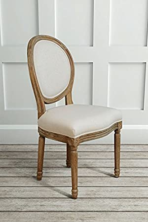 MY-Furniture - French Louis Style shabby chic OAK Oval Dining ...