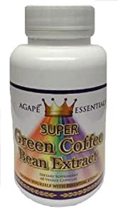 Pure Green Coffee Bean GCA Extract, Guard Your Heart With It's Powerful All Natural Ingredient - Super Antioxidant With The Most Potent GCA for Proven All Natural Weight Loss Fat Burning Supplements - 100% Pure - 800mg 60 Veggie Capsules