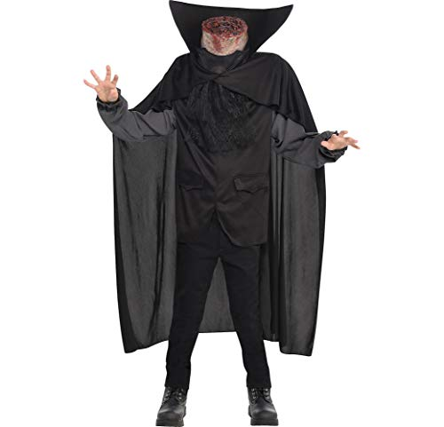 AMSCAN Blood Headless Horseman Costume for Boys, Large with Included Accessories