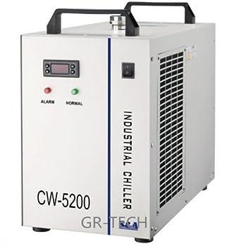 gr-tech Instrumento® cw-5200ah Industrial enfriador de agua para dos Tubos de