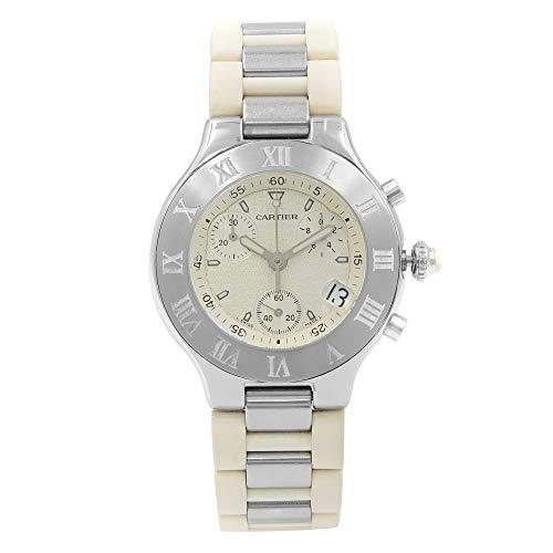 - Cartier Must 21 Quartz Male Watch W10184U2 (Certified Pre-Owned)