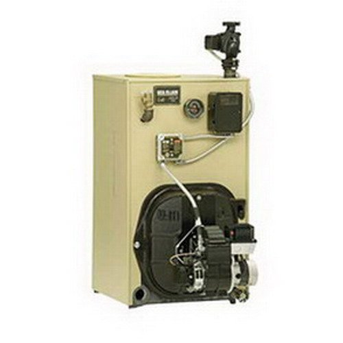 Gold Oil Boiler (Weil-McLain WGO Gold Series Cast Iron Oil Boiler Less Coil And Burner, 1.2 gph, 126 MBH)