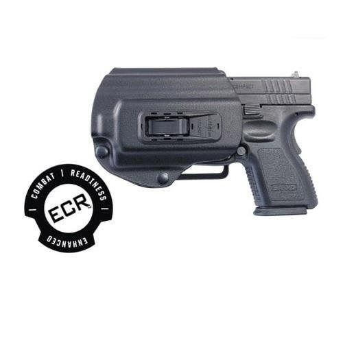Viridian Left-Handed TacLoc C-Series Auto Locking Holster with ECR for Springfield XD & XDm Pistols in 9mm.40 & .45 Calibers by Viridian