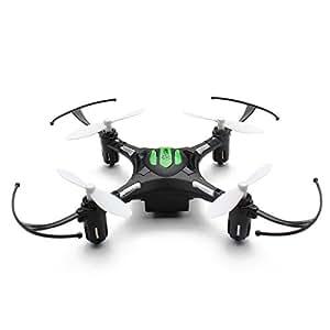 EACHINE H8 Mini Cuadricóptero Headless Mode 2.4G 4CH 6 Axis RC Nano Teledirigido Quadcopter RTF Modo 2 (Negro)