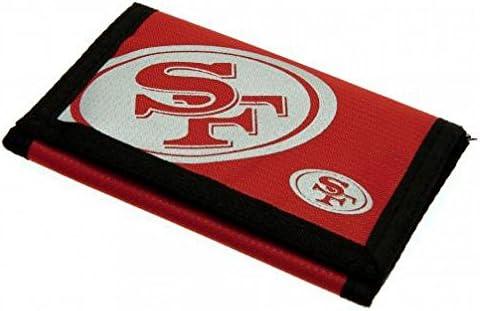 San Francisco 49ers Offizielles American Football Geschenk Nylon Wallet – A Great Weihnachten/Geburtstag Geschenk Idee für Männer und Jungen