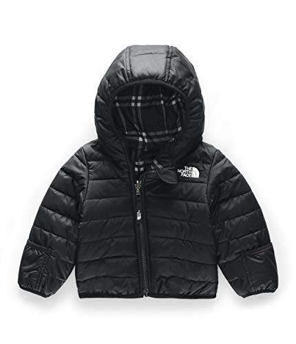 The North Face Kids Unisex Reversible Perrito Jacket (Infant) TNF Black 0-3 Months (Childrens North Face Coat)