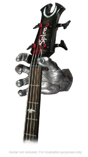 Left-Handed Silver Metallic GuitarGrip LHGH-101 Male Standard Grip