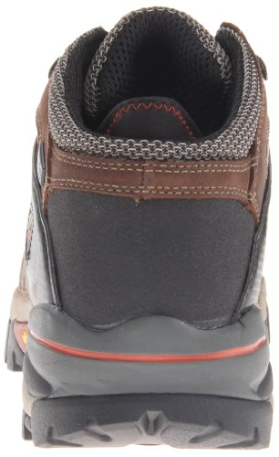 Pictures of Timberland PRO Men's Hyperion Four-Inch Brown Distressed Leather/Fabric 7
