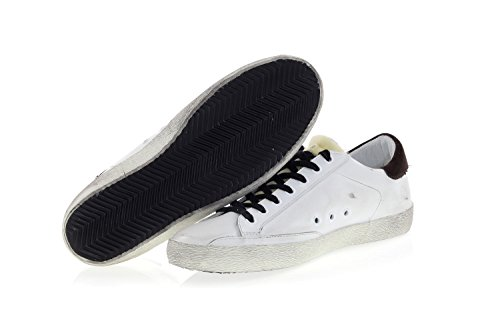 Sneakers Pelle Tessuto 'Superstar' Golden Bianco Scarpe Goose in E 0nyq61EX4W