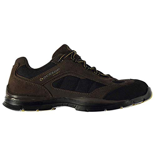Dunlop Men's Safety Iowa Steel Toe Work Shoes Brown 10 by DUNLOP (Image #1)