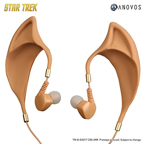 Star Trek Ears (Star Trek Vulcan Earbuds with Inline Remote and Mic (Star Trek Vulcan Earbuds with Inline Remote and)