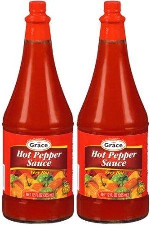 Grace Hot Pepper Sauce 12 FL oz 2pk - Jamaican Hot Pepper Sauce