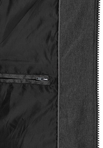 À 9000 Pour Blouson Capuche D'hiver Bendix Black D'extérieur Homme Veste solid vgB0O